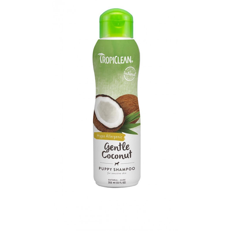 New Trop Shampoo GentleCoconut Hipo-Puppy 355ml