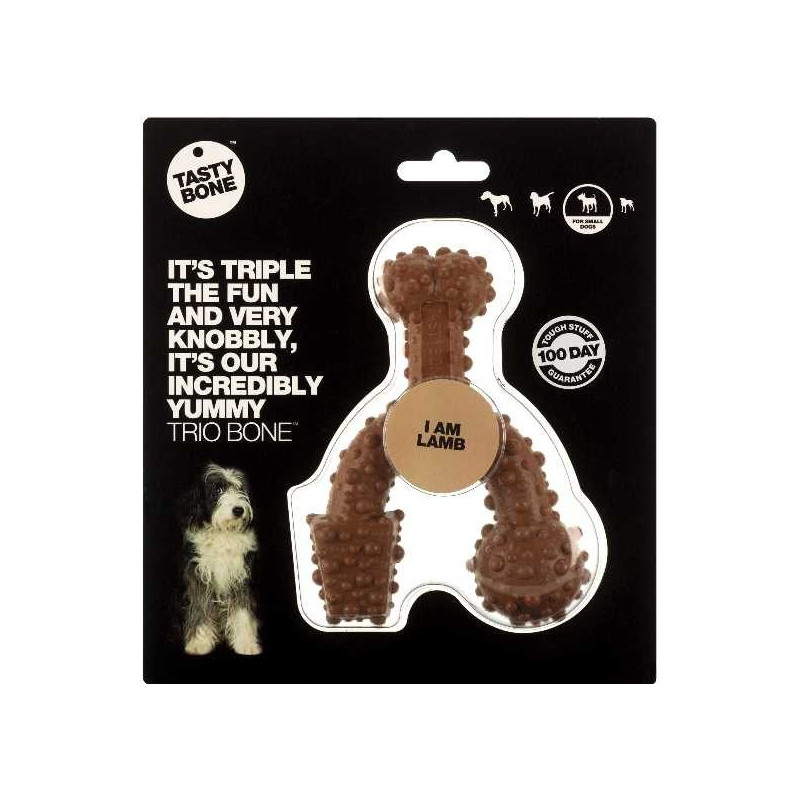 TastyBone Trio Bone Small Nylon Lamb