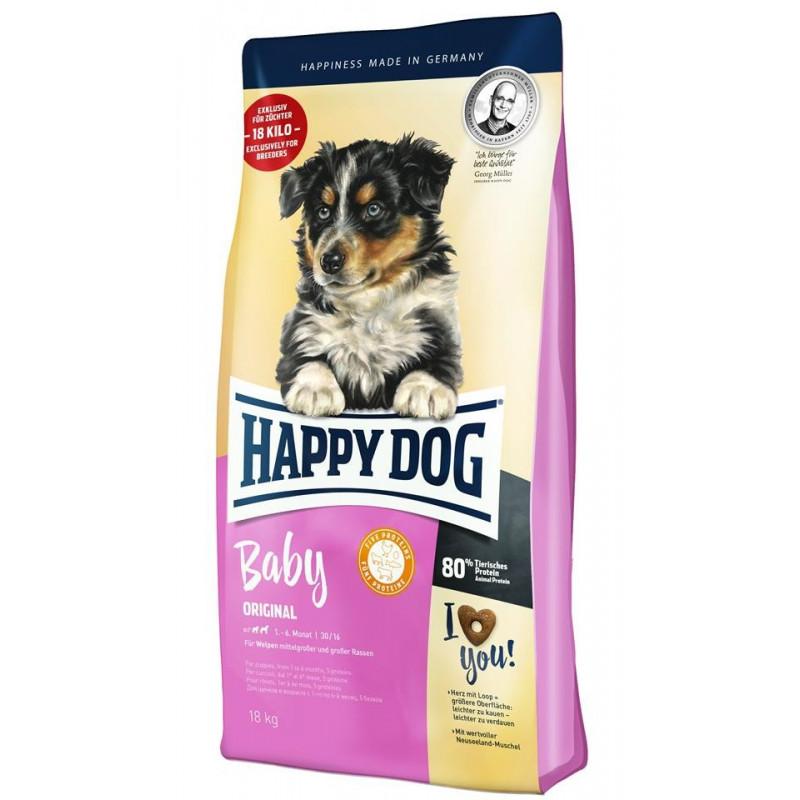 Happy Dog Profilinie Baby Original 1-6 mesi 18kg