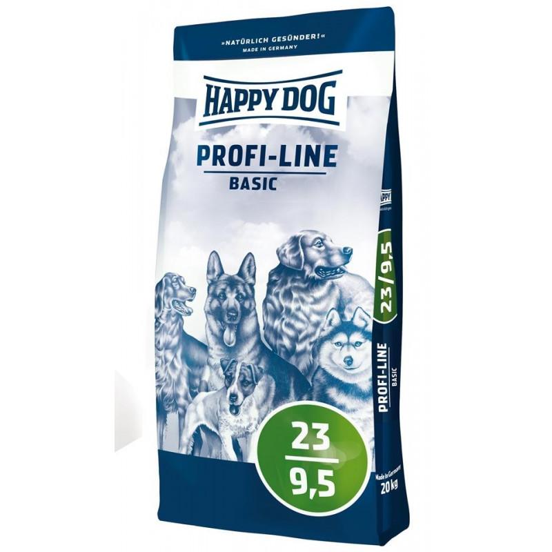 Happy Dog Profilinie Basic Adult 23/9,5 20kg